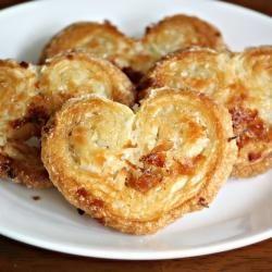 Coconut Palmier Hearts  http://artofdessert.blogspot.com/2012/02/coconut-palmier-hearts.html