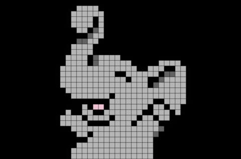 Baby Elephant Pixel Art Pixel Art Grid Pixel Art Minecraft