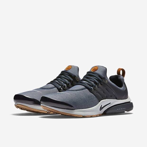 men s nike presto maroon leather textures seamless promotion
