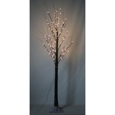 Hi-Line Gift Ltd 8-Function Black Tree - 120 LEDs in 2018