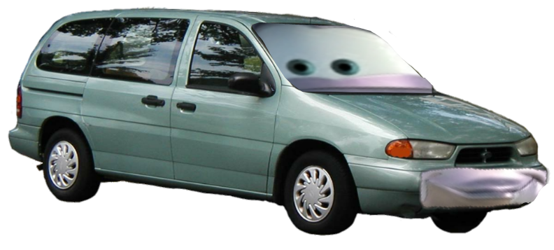 Leroy Traffik In Real Life 1998 Ford Windstar Without Mattress