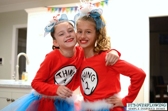 Easy Halloween Costume - Dr Seuss - Its Overflowing Sophie0102 - dr seuss halloween costume ideas
