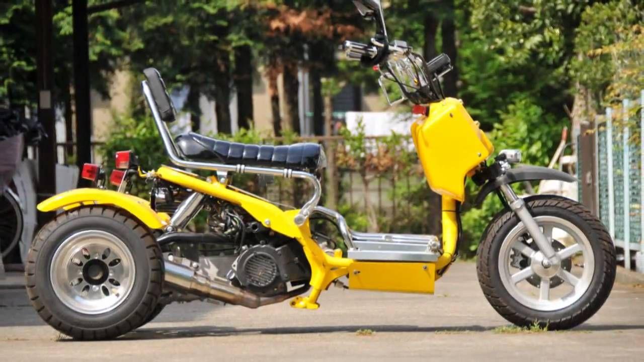 Honda Zoomer Type Trike HR Special | Honda Ruckus / Zoomer | Pinterest