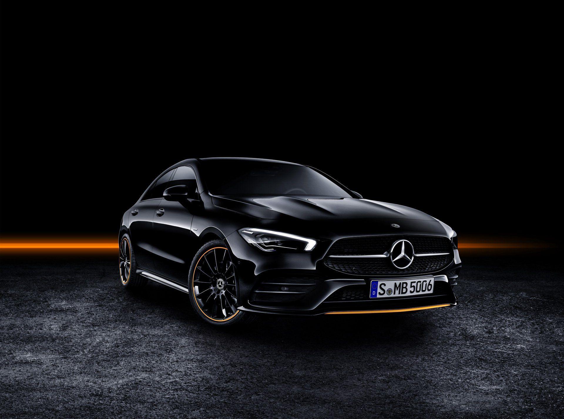 2020 Mercedes Benz Cla 250 Coupe Edition Orange Art Amg Line