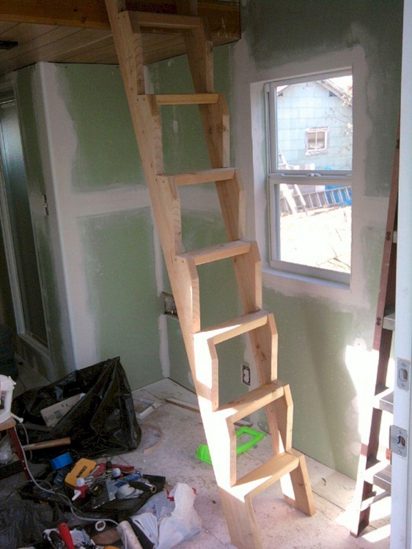Tiny House Loft Ladder  Kleines haus loft, Treppen-design
