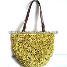 Photo of toptan moda el yapımı kağıt saman tığ çanta