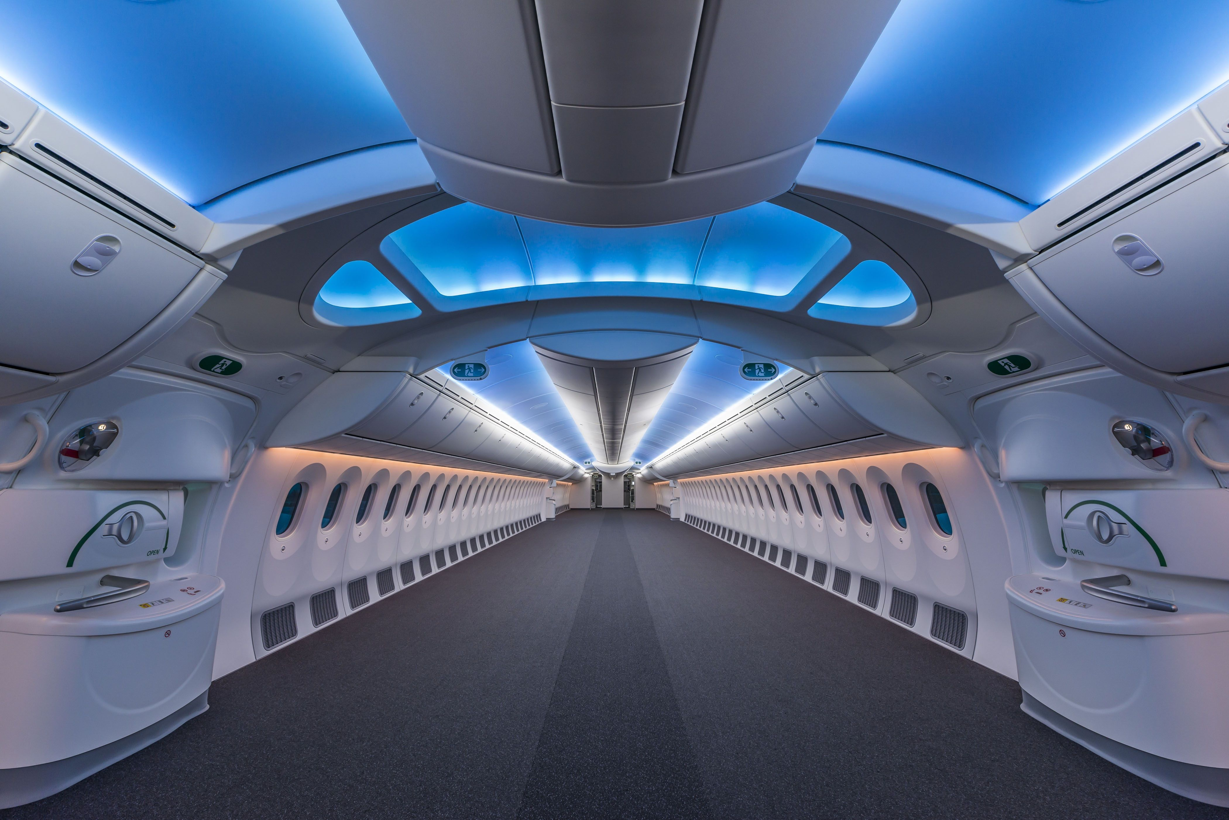 Empty boeing plane also picture and photography pinterest rh