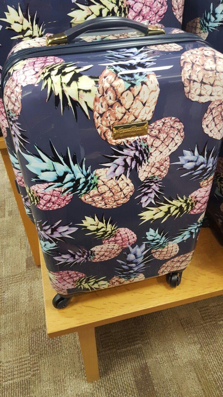 e3bd7c75e20e Pineapple suitcase at Macys   cuteness! in 2019   Pineapple, Bags ...