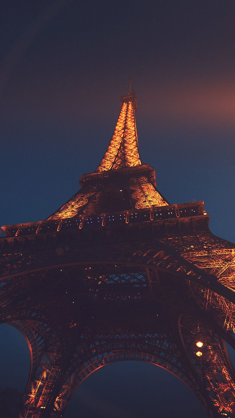 Nh38 Eiffel Tower Paris France Tour Vacation City Night Flare With Images New Wallpaper Iphone Paris Wallpaper Paris Wallpaper Iphone