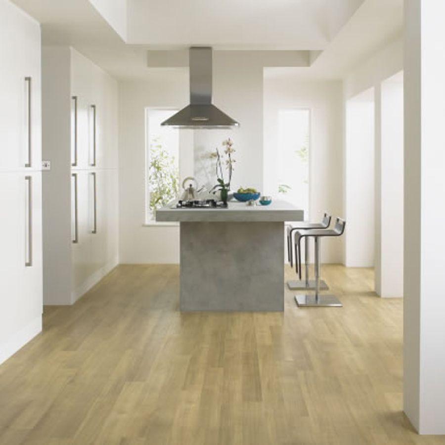 Modern Kitchen Floors Ideas by Amtico White Oak | Flooring ...