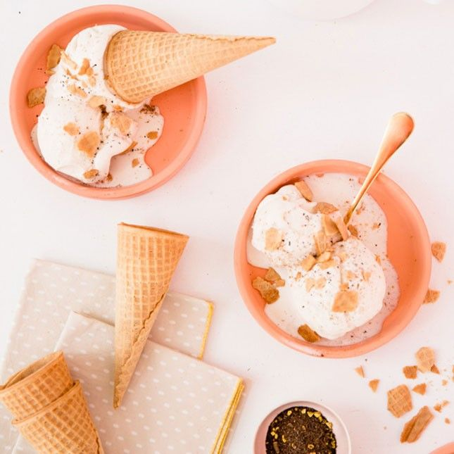 How to Scoop Your Chai Tea Latte into a Cone
