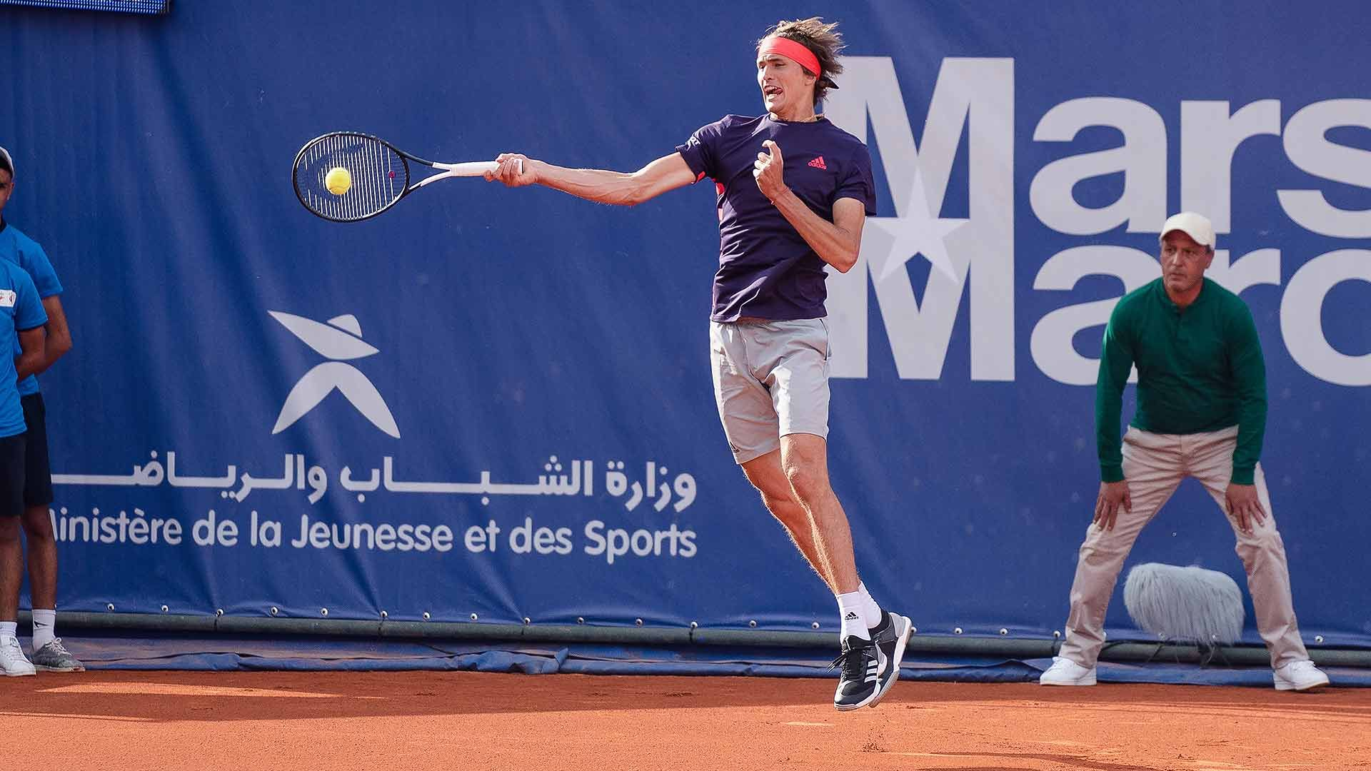 Top Seed And World No 3 Alexander Zverev Started His Clay Court Swing With A Convincing 6 4 6 4 Win Against Denis Isto Fernando Verdasco Marrakech Grand Prix