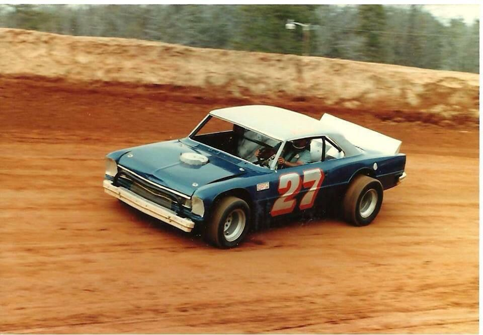 Randall Fowler At The Old Golden Strip Speedway Vintage Dirt Race
