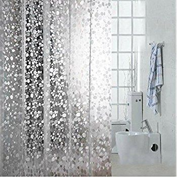 Amazon Creative Bath Products Pockets Clear Vinyl Shower Amazon350 X 350Search By Image Eforcurtain Standard 72x72 Cobblestone Waterproof