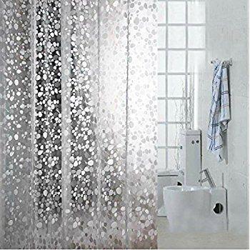 Amazon Com Creative Bath Products Pockets Clear Vinyl Shower