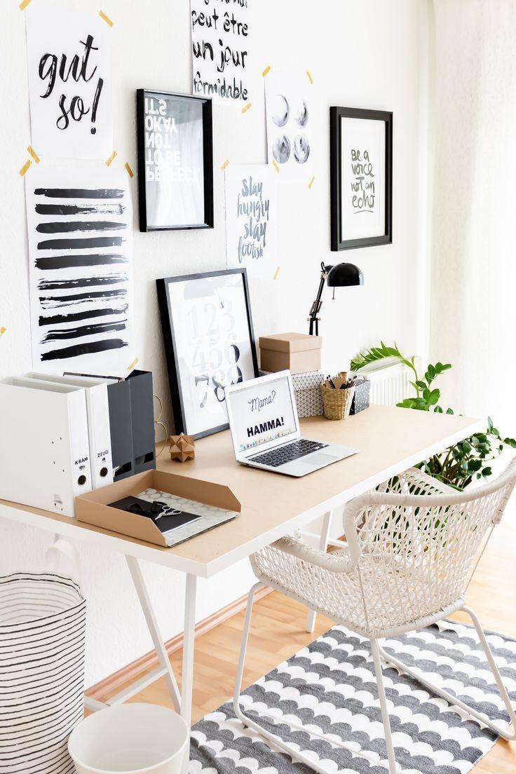 Kleines Arbeitszimmer skandinavisch einrichten und wie ich mehr Mut zum ICH gefunden habe