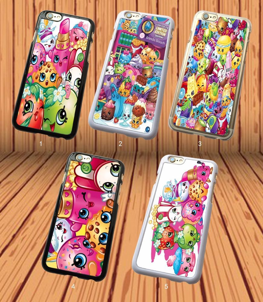 the best attitude f31b8 41e83 Shopkins All Characters for Apple iPhone And Samsung Galaxy Hard ...