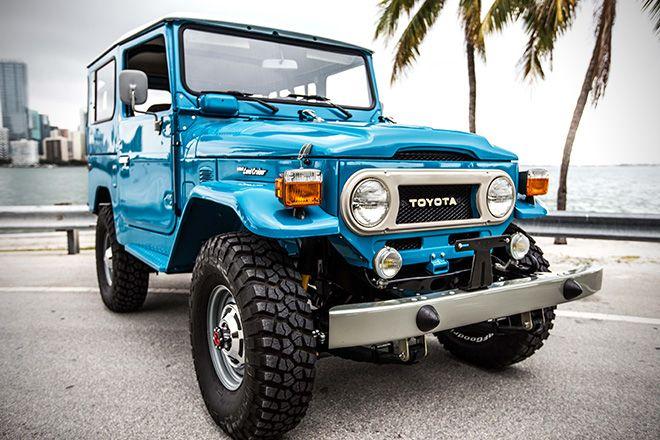 1978 Toyota Land Cruiser FJ40 Sky Blue By FJ Company 2