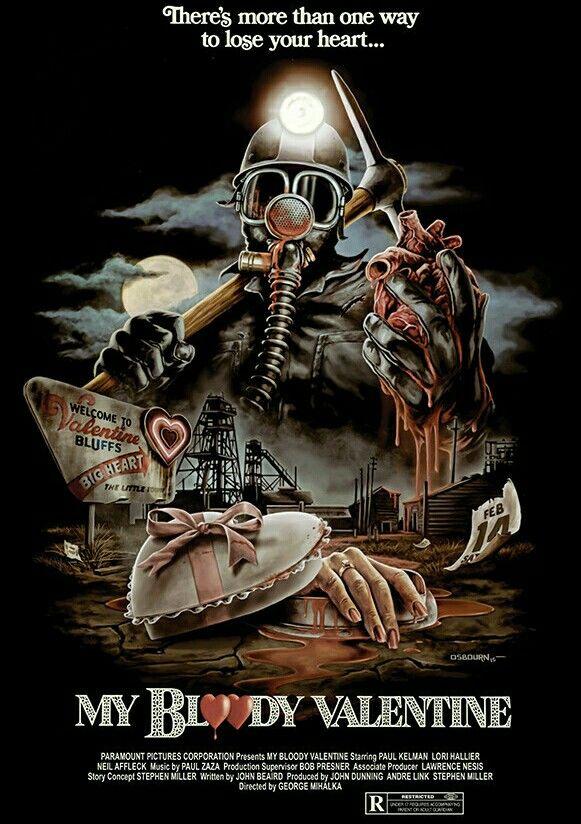 My Bloody Valentine Horror Movie Poster Slasher | cinema | Pinterest ...