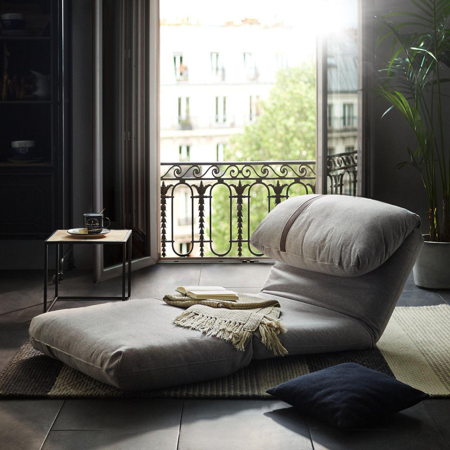 Schlafsessel In Grau Mit Schaumstoffpolsterung Schlafsessel Sessel Haus Deko