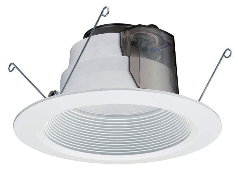 Lithonia Lighting 6BPMW LED 27K 90CRI M6 1 Light LED Energy Star Rated Recessed White Commercial Lighting Recessed Trims LED