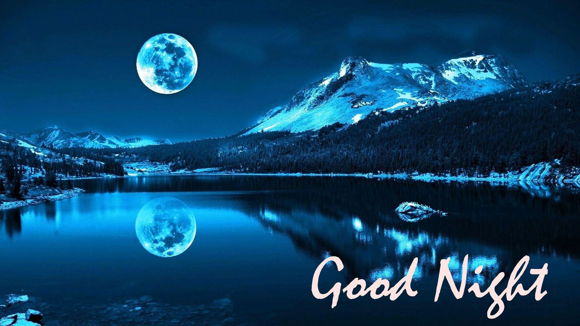 hd pics photos awesome good night attractive night scenery moon
