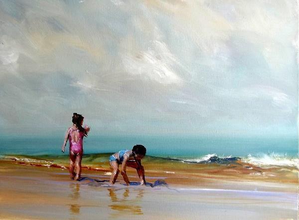 Australian Painter Robert Hagan Australian Painters Beach Painting Small Artwork