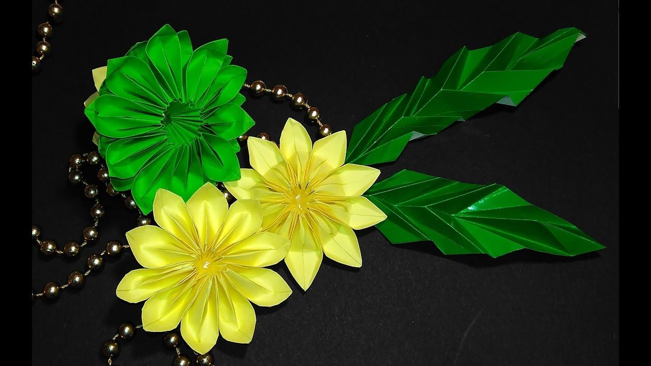 Easy To Make Origami Lotus Flower Great Ideas For Table Decoration