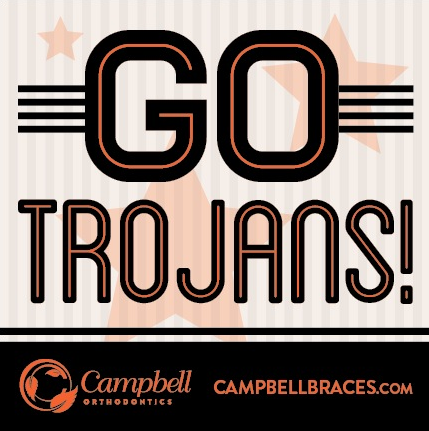 Campbell Orthodontics supports our Lely High School Trojans! Repin