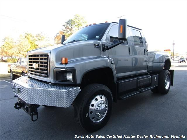 2004 Chevrolet Kodiak Topkick C7500 Diesel 4x4 Monster Cat Dually