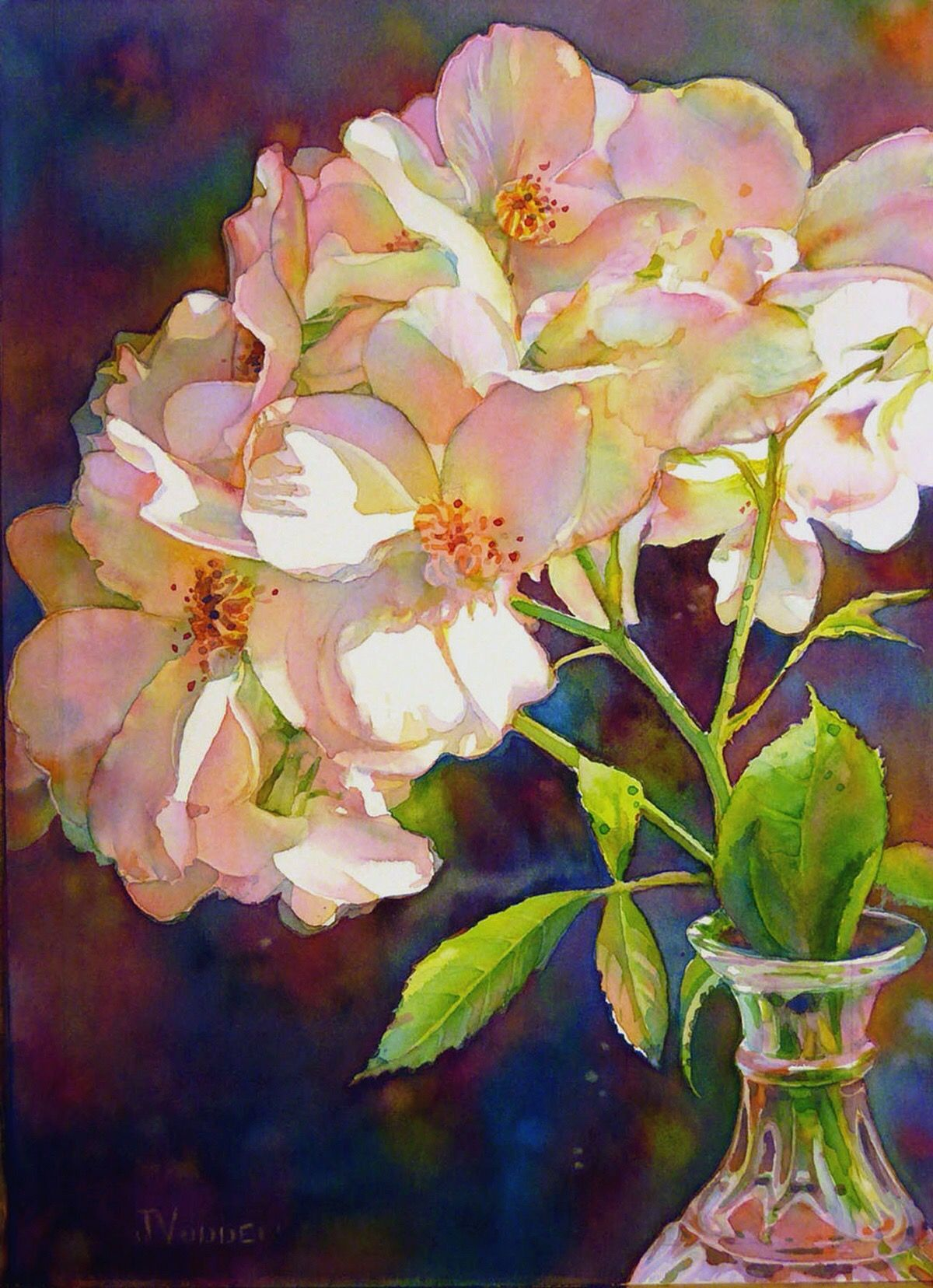 Idea by Sue on Painting Flower art, Watercolor