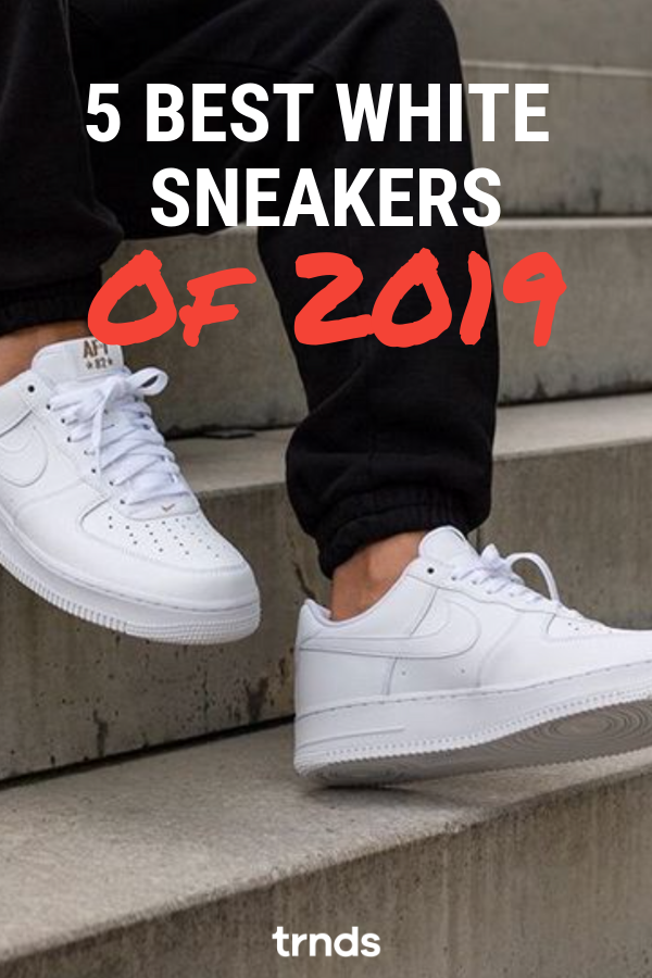 18c70cac4de9a Top 5 best white sneakers for women of 2019. With summer coming