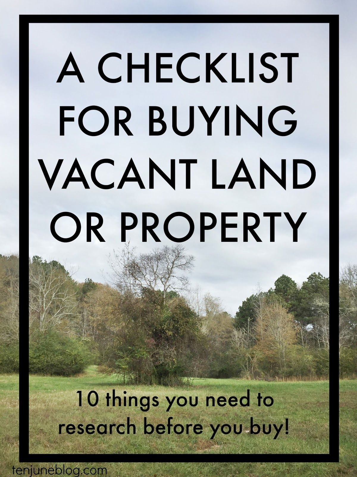 how to buy a land Robin smith shares advice when buying land, including land buying tips on road access, water, easements, mineral rights, protecting your down payment, and community attitudes.