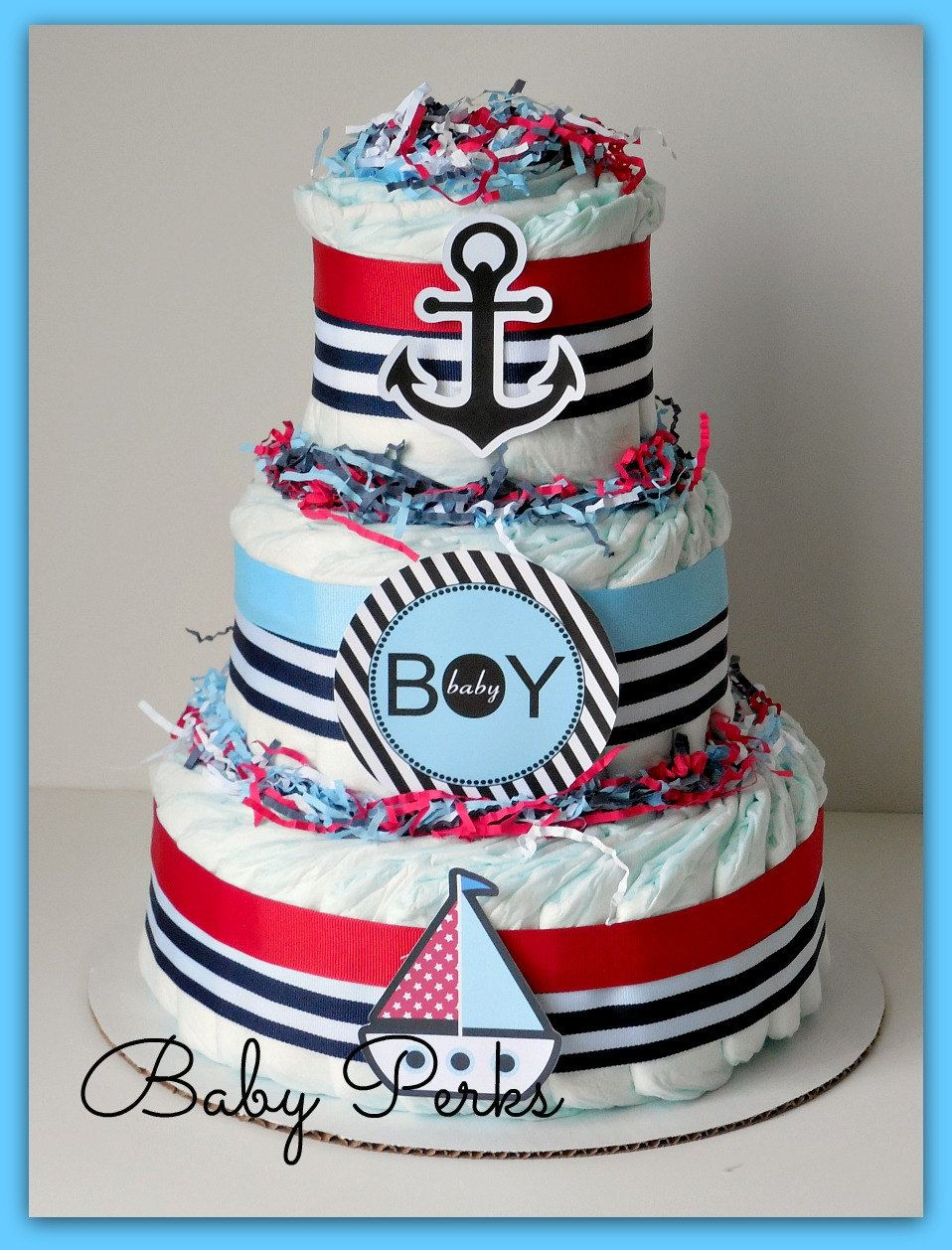 Baby Shower Decorations, Nautical. 🔎zoom