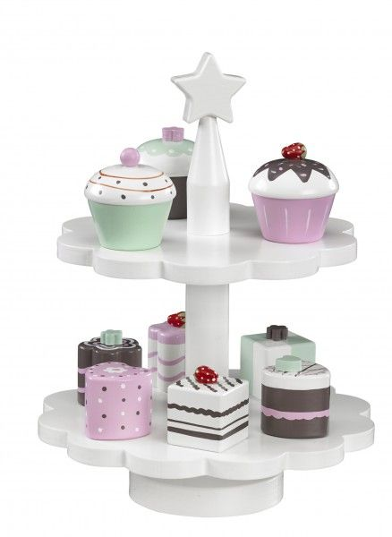 Kids Concept Kekse-Set, Cupcake, Pralinen, Muffin, 9 Stück gemischt ...