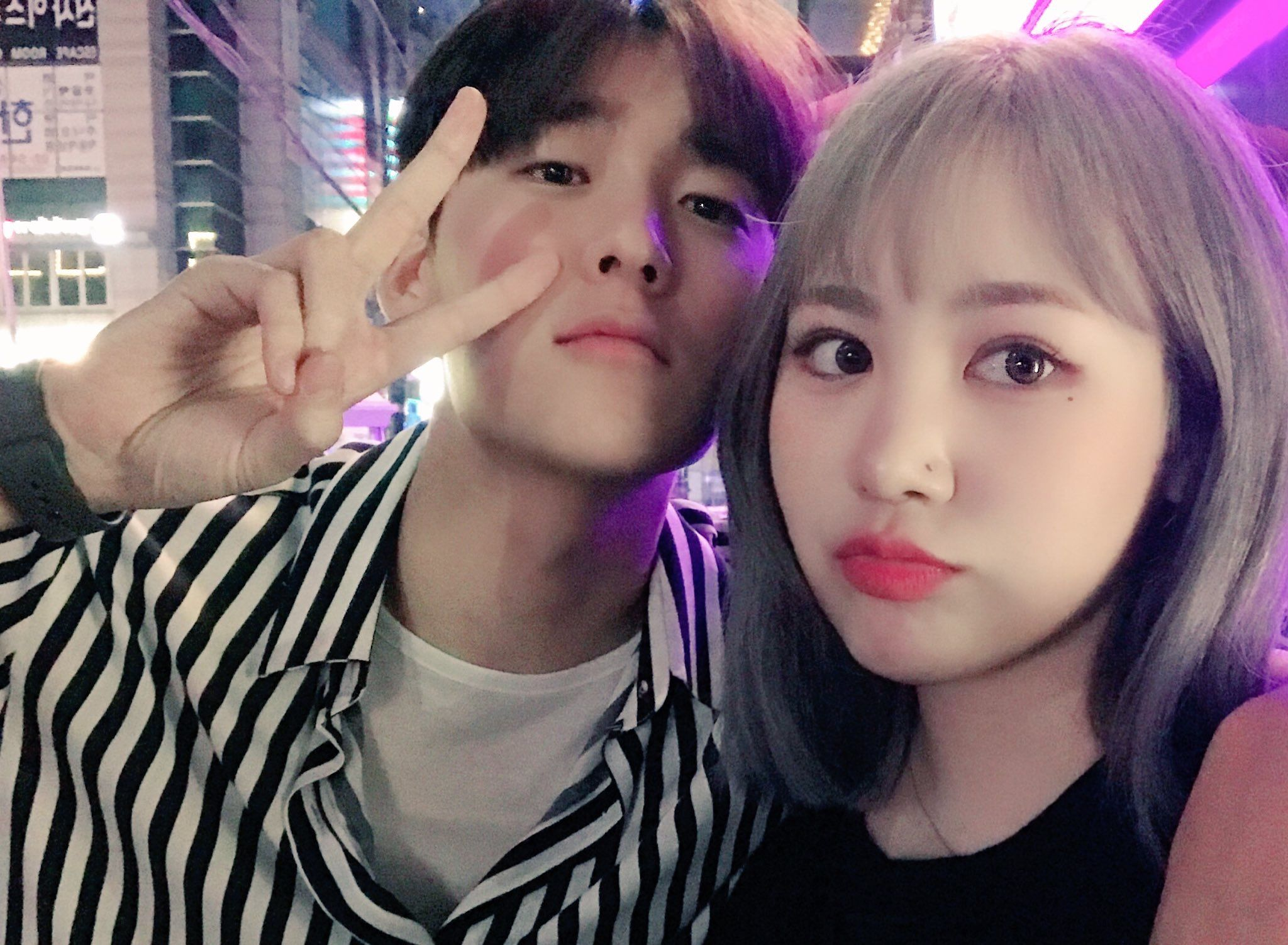Kevin and Jimin