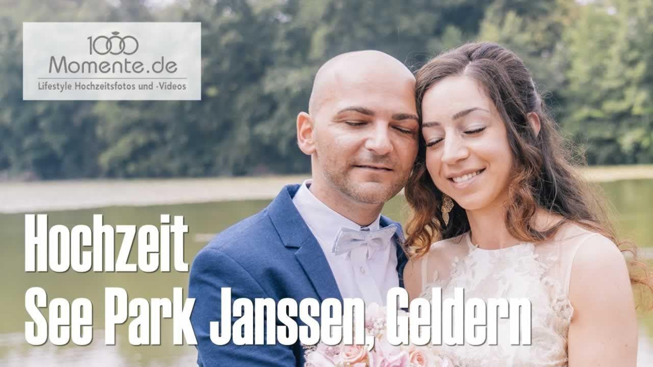 Hochzeit See Park Janssen Geldern  Hochzeitsvideos, Video
