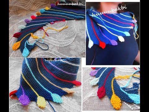 Knitting Tutorial - SKEINO Arabella Shawl - YouTube