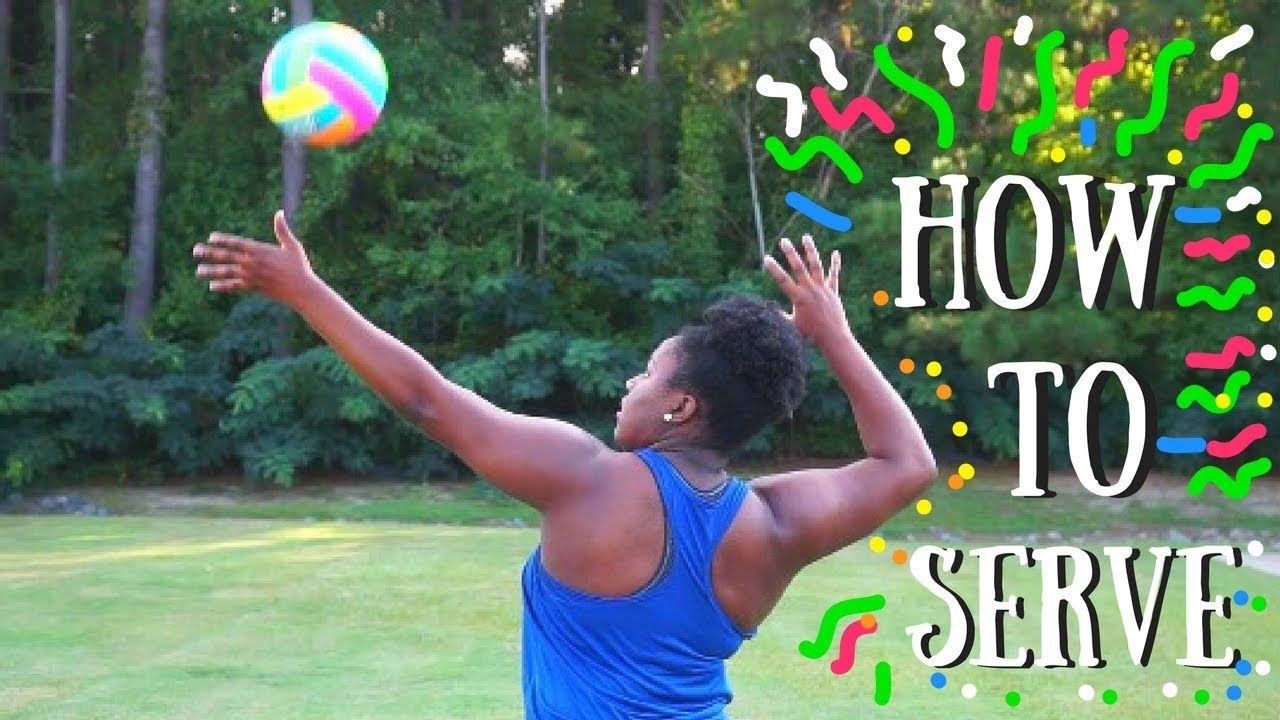 How To Overhand Serve For Beginners Youtube Volleyball Serve Coaching Volleyball Volleyball