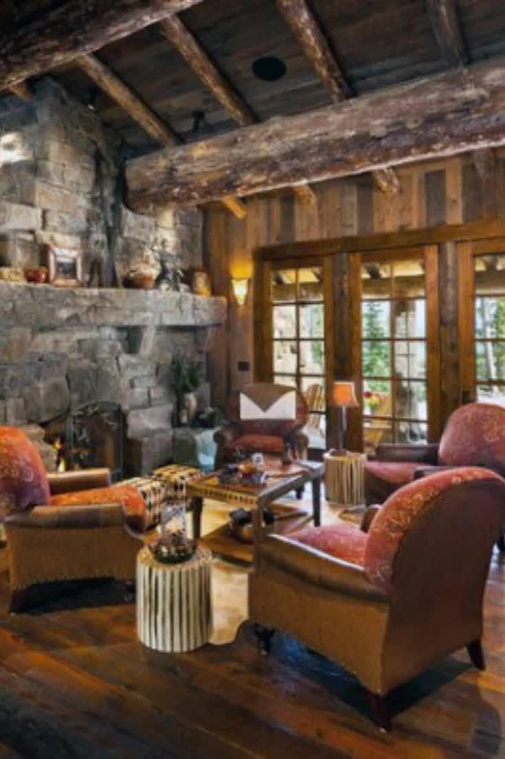 Top 60 Best Rustic Living Room Ideas - Vintage Int