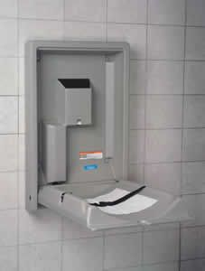 Kb101 01 Gray Koala Gray Standard Vertical Baby Changing Station Volume Discounts Available The Koala Kare Baby Changing Station Changing Station Baby Changing
