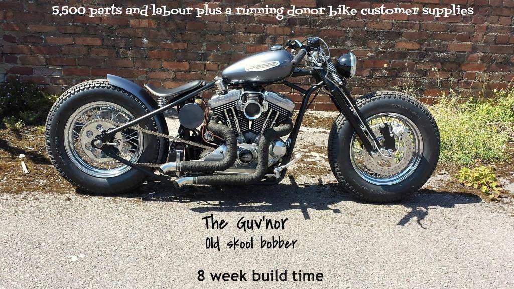 Harley Davidson Sportster Bobber Build