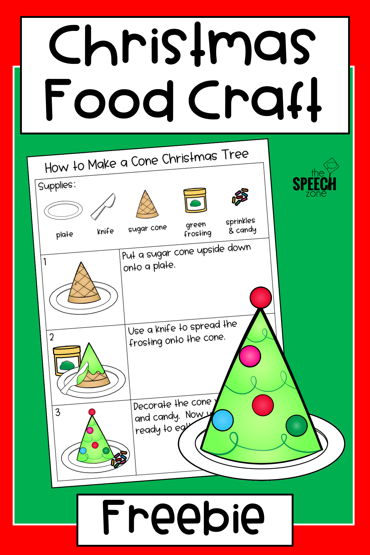 Celebrate The Holidays In Speech Therapy With This Free