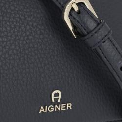 Photo of Aigner Milano S Crossbody Bag Night Grey in marine Umhängetasche für Damen Aigner