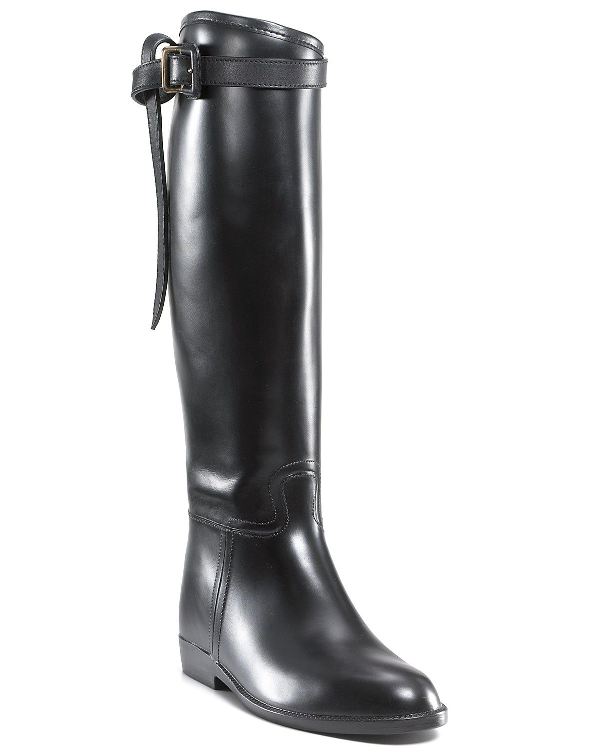 Burberry Riding Rain Boots