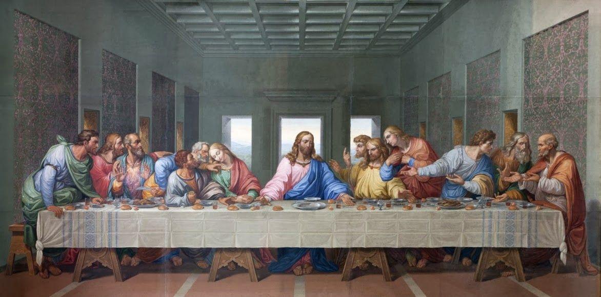 Last supper Leonardo da vinci | High resolution Art photos ... Da Vinci Last Supper High Resolution