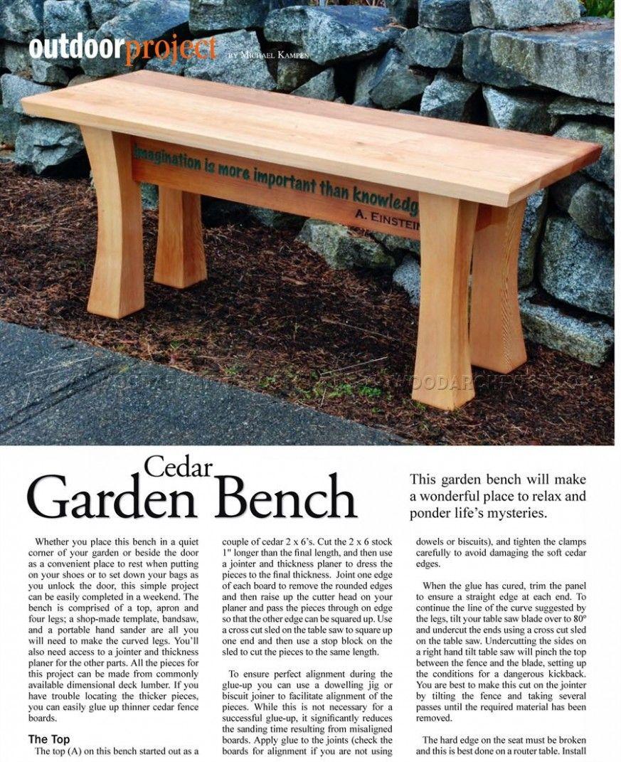 Sensational 45 Best Diy Outdoor Bench Ideas For Seating In The Garden Inzonedesignstudio Interior Chair Design Inzonedesignstudiocom