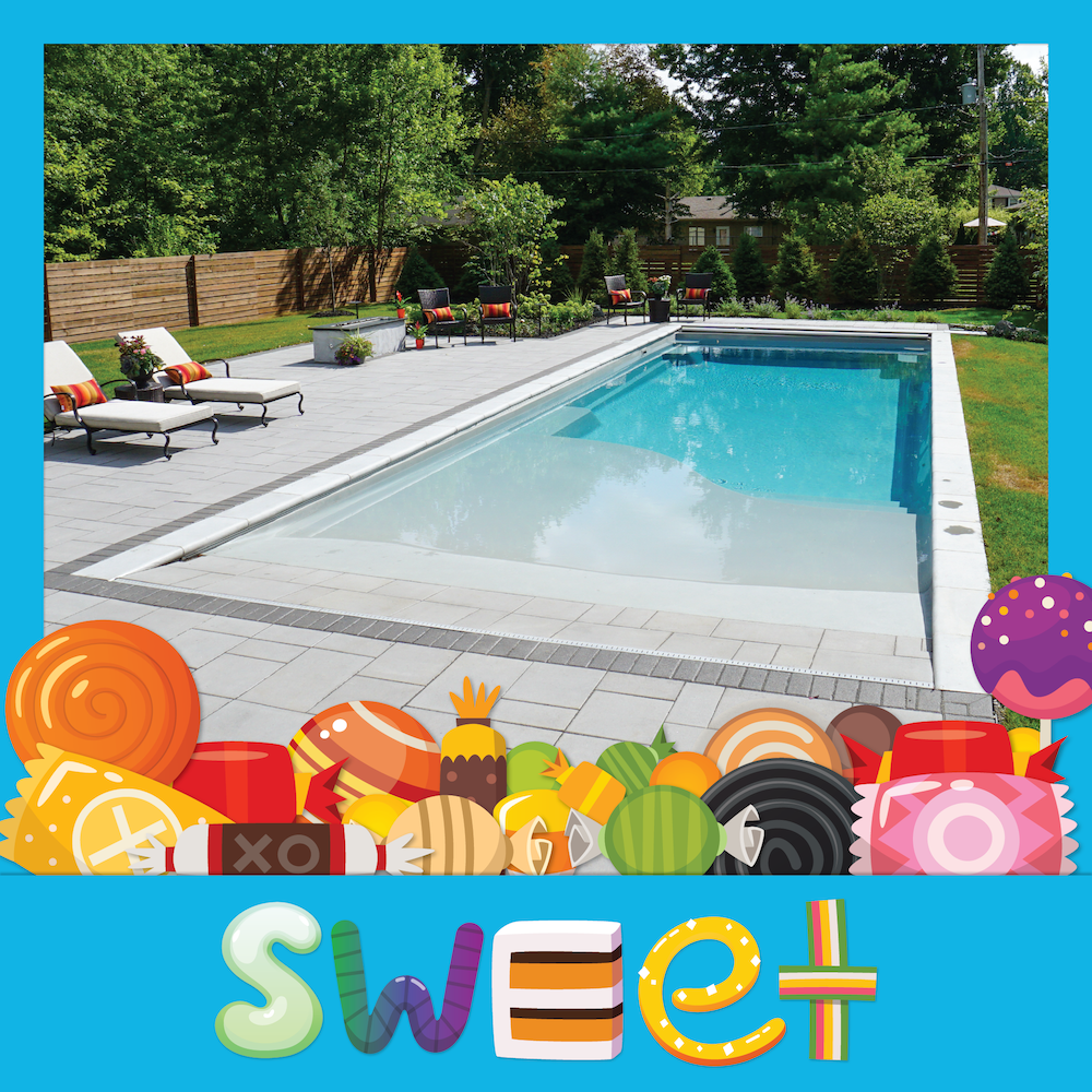 The Best Type Of Candy Is Eye Candy The Best Eye Candy Is A Thursday Pools Pool In Your Back Swimming Pool Designs Fiberglass Pools Woodworking Plans Beginner