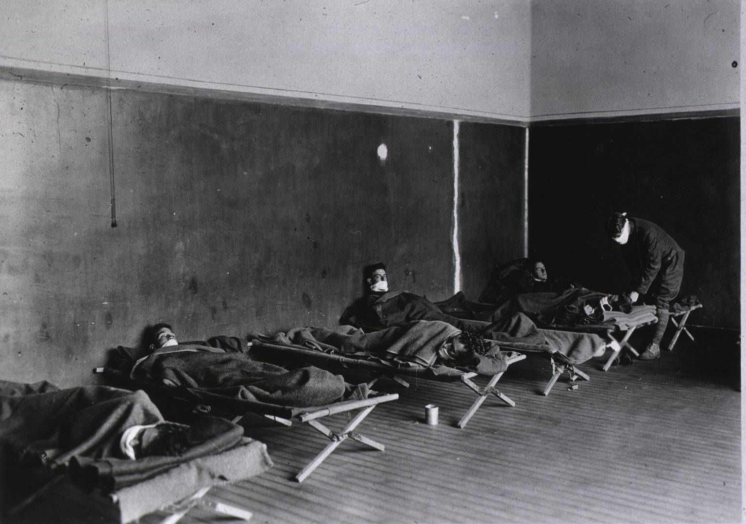 a history of the influenza epidemic in world war i Throughout the period of the great war, the pandemic proper did not  other  medical event in human history the most recent scholarship puts the death toll  worldwide at 100  two to the consequences of the influenza pandemic, in spite  of the.