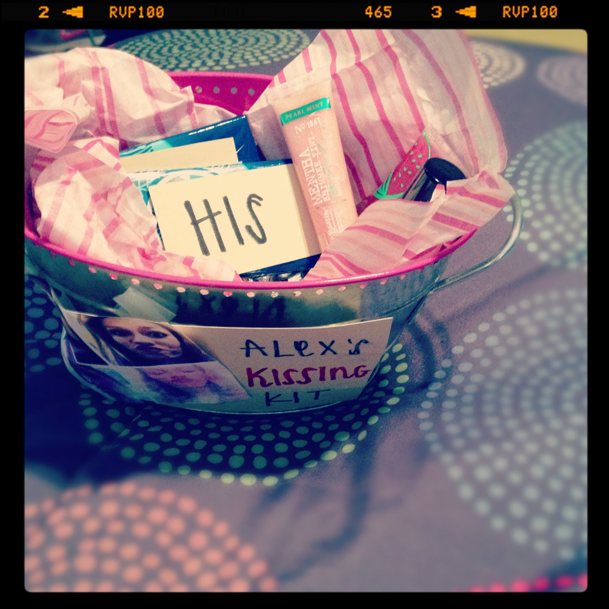 Sweet Sixteen Birthday Gifts For Best Friend Kissing Kit Made By My Cute